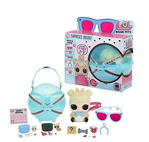 L.O.L. Surprise! Biggie Pet Asst Chica - Kits de figuras de...