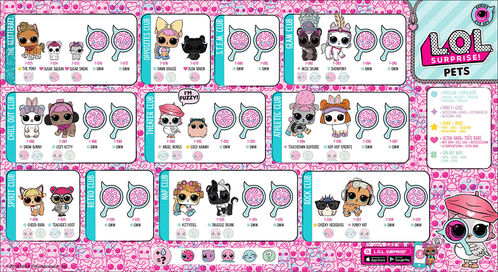 Colección LOL Surprise Pets Eye Spy Serie 4