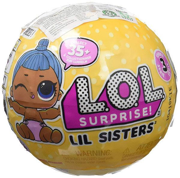 Bola Lil Sisters Serie 3