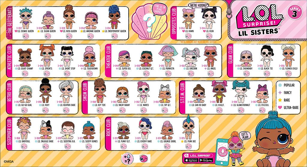 LOL Surprise Lil Sisters Serie 3