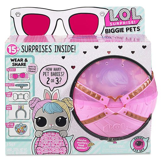 LOL Surprise Biggie Pets Hop Hop