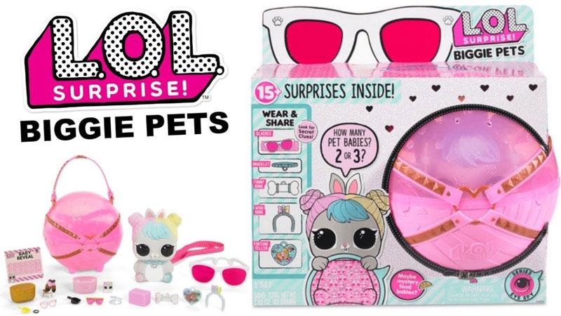 Lol Surprise Biggie Pets Eye Spy Universo L O L Surprise