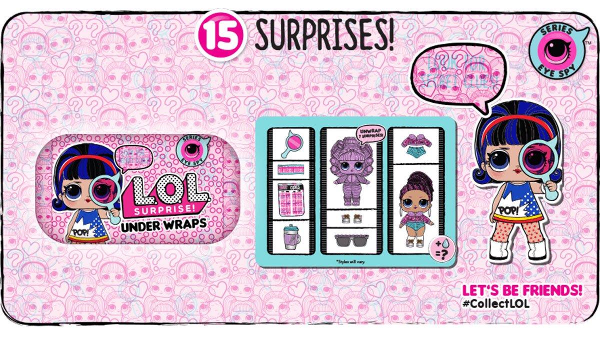 L.O.L. Surprise! Eye Spy Under Wraps