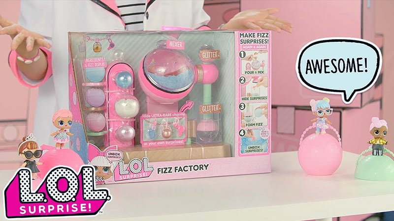 LOL Surprise Fizz Factory