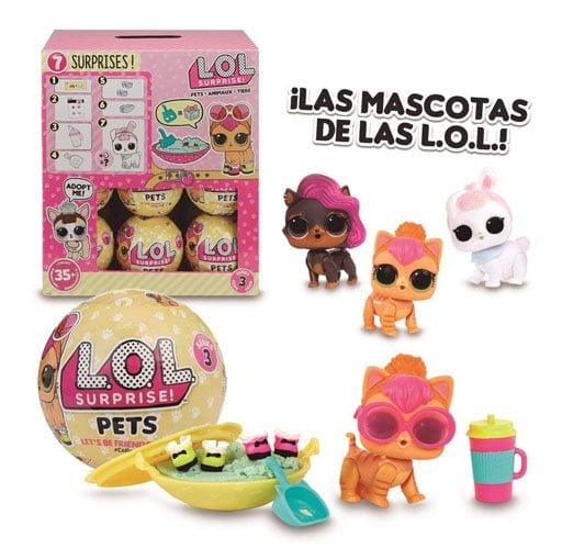 Montaje LOL Surprise Pets Serie 3