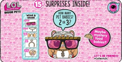 LOL Surprise Biggie Pets Serie Eye Spy