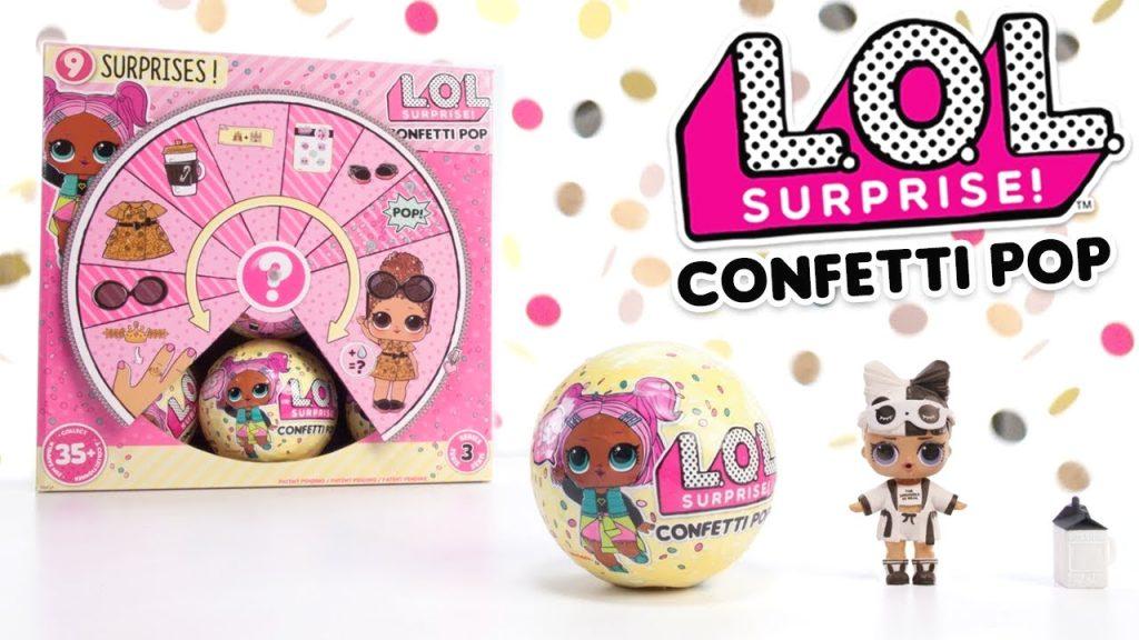 LOL Surprise Confetti Pop Serie 3