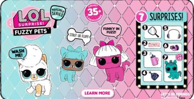Promo Serie Makeover Fuzzy Pets