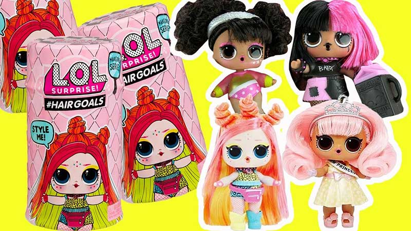 LOL Surprise Doll Color Change Wave 2 LIL OOPS BABY Lil Sisters Eye Spy Series 4