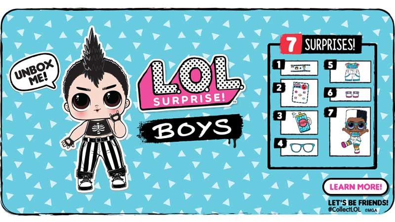 LOL Surprise Serie Boys