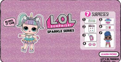 LOL Surprise Serie Sparkle promo