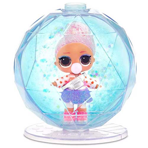 Figure 8 de LOL Surprise WDisco Glitter Globe d'hiver