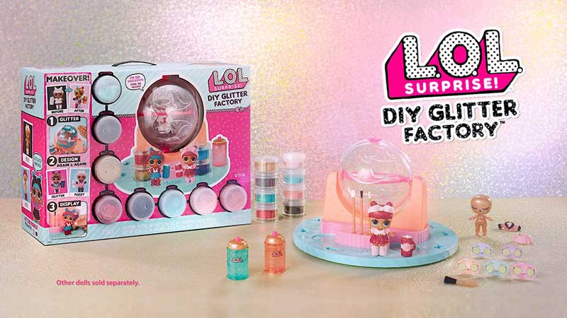 LOL Surprise Serie Makeover DIY Glitter Factory
