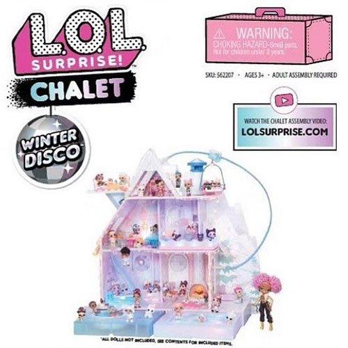 LOL Surprise Winter Disco Chalet Puppen