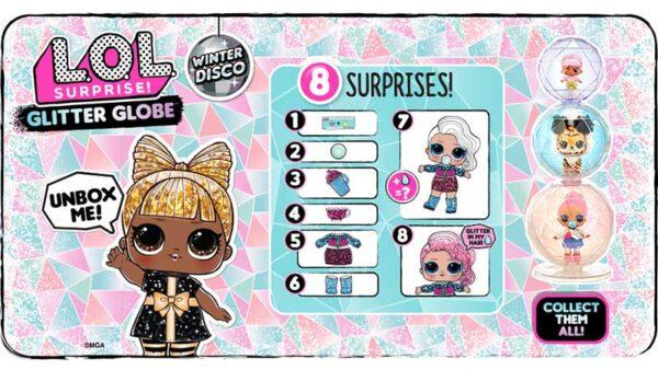 promo lol surprise glitter globe winter disco - Universo L.O.L. Surprise!