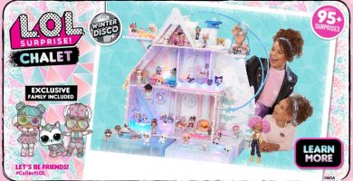 Promo Winter Disco Chalet