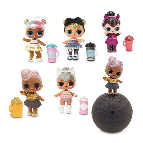 6 muñecas Glam Glitter