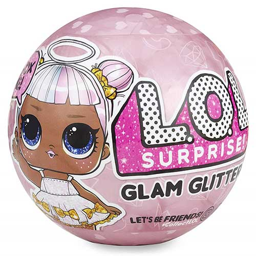 Frontal bola Glam Glitter