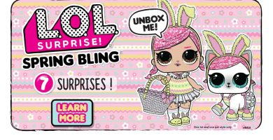 LOL Surprise Spring Bling Puppen