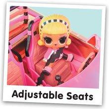Verstellbare Sitze