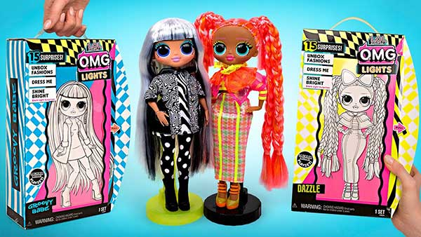 OMG Lights Groovy Babe & Dazzle