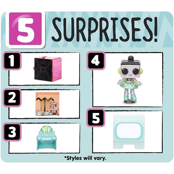 The Tiny Toys come with 5 surprises