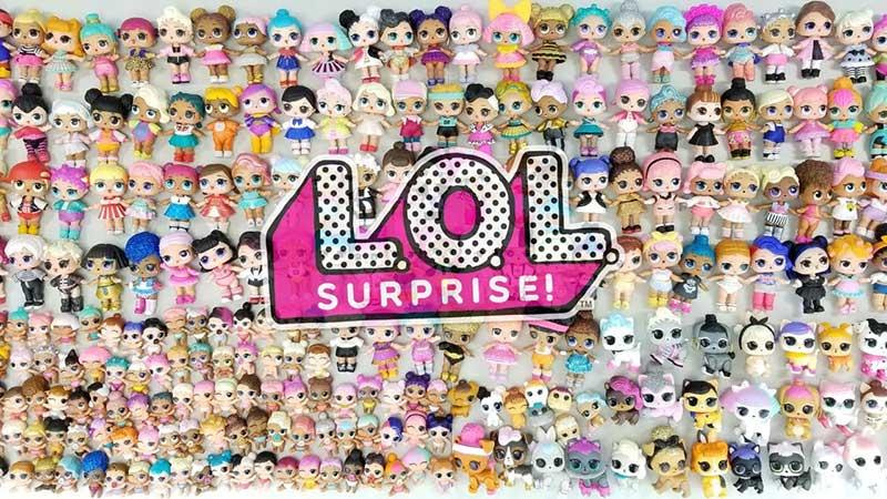Todas las series LOL Surprise