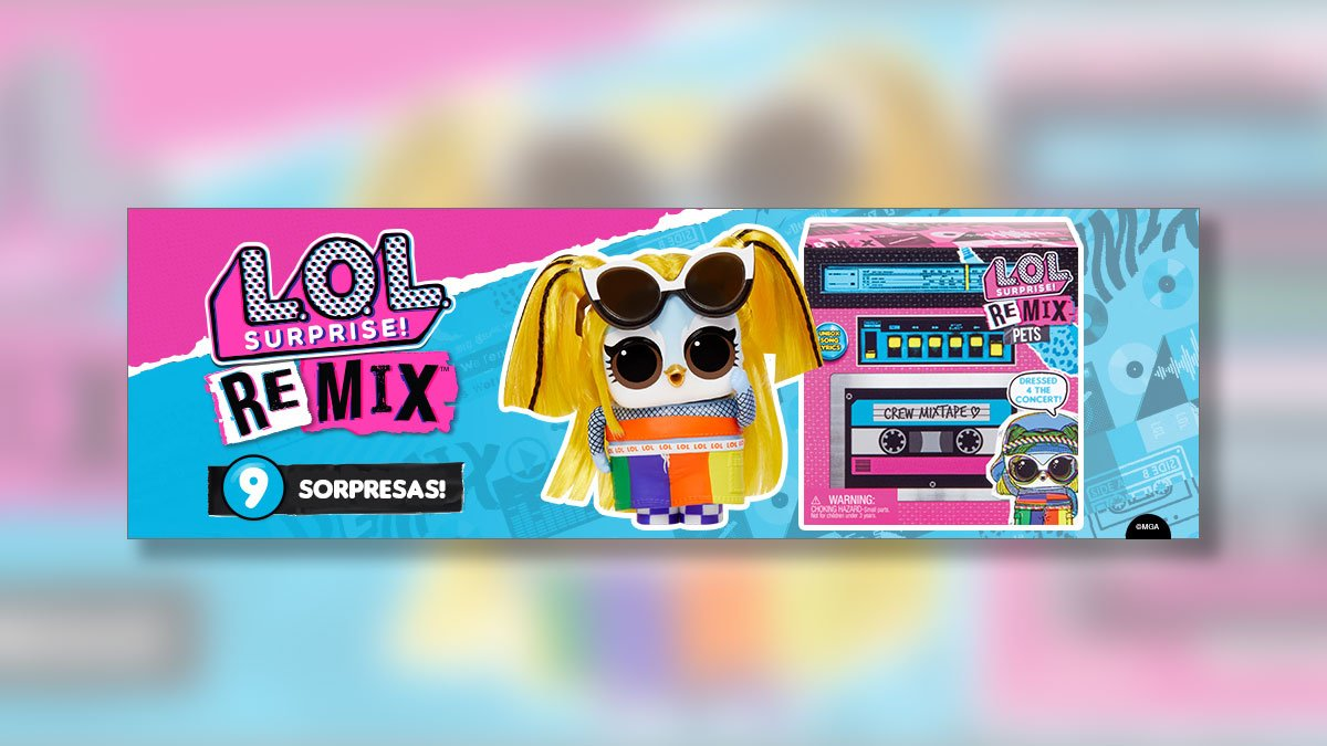 lol surprise remix pets imagen destacada - Universo L.O.L. Surprise!