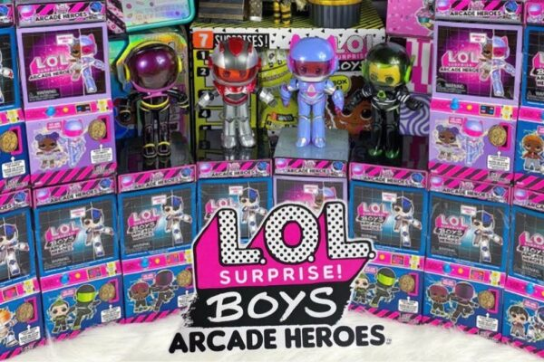 lol surprise serie boys arcade heroes imagen destacada - Universo L.O.L. Surprise!
