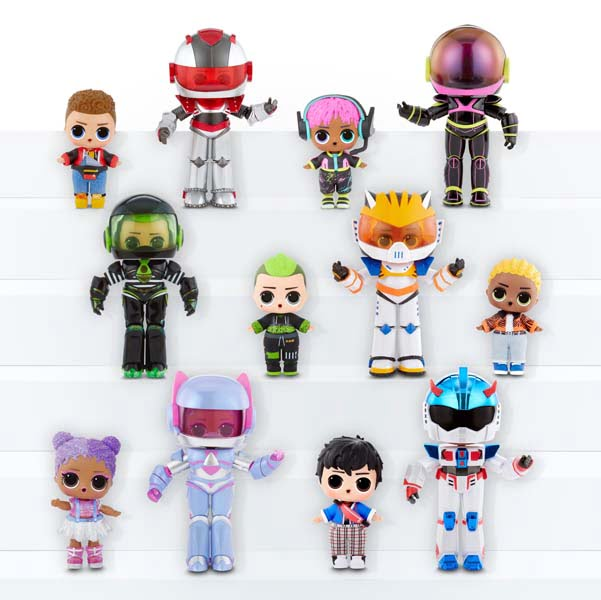 Boys Arcade Heroes - Universo L.O.L. Surprise!