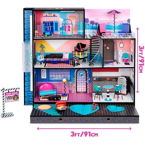 casa lol surprise omg house dimensiones - Universo L.O.L. Surprise!