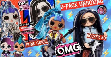 lol surprise omg remix rocker boi punk grrrl - Universo L.O.L. Surprise!