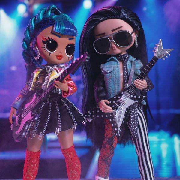 Puppen Punk Grrrl Rocker Boi