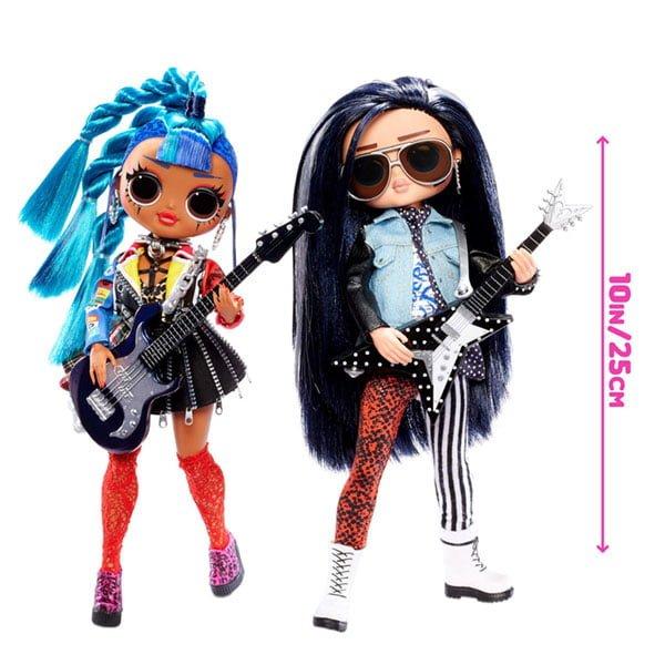 lol surprise omg remix rocker boi punk grrrl measures - Universo L.O.L. Surprise!