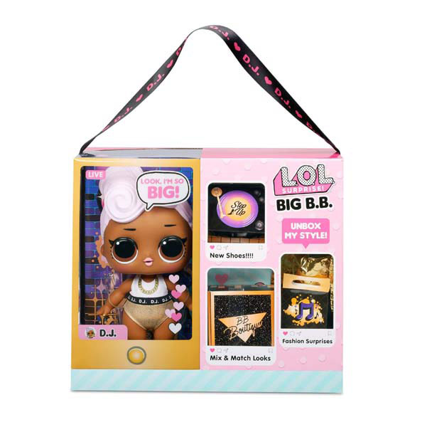 Big BB Doll DJ1 - Universo L.O.L. Surprise!