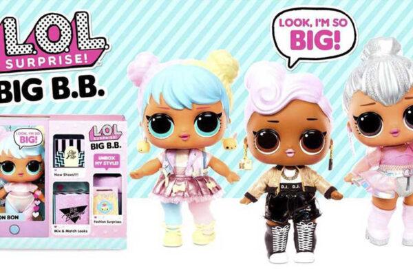 LOL Surprise Big BB imagen destacada - Universo L.O.L. Surprise!