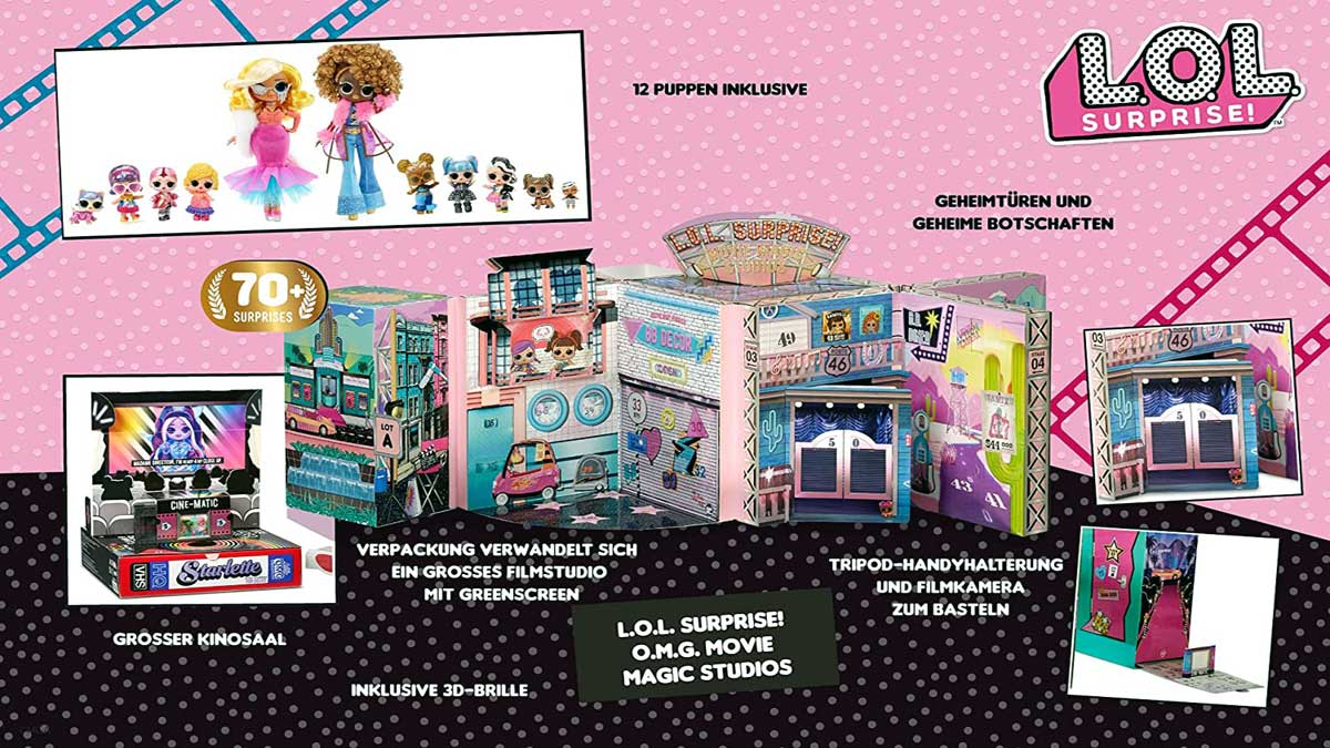 Movie Magic Studios Banner - Universo L.O.L. Surprise!