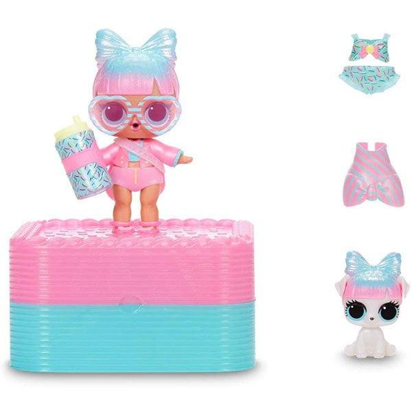 Deluxe Present Surprise Dolls Cake