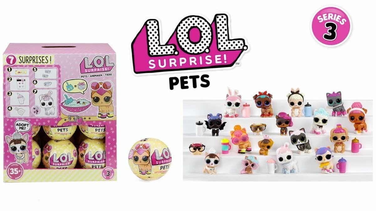 LOL Surprise Pets Serie 3
